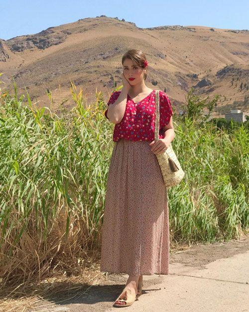 ساریسا حیدری _ بیوگرافی مدل محبوب و خوش چهره ایرانی