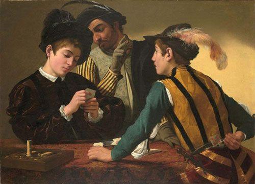 شرط بندی در هنر: نمایش شرط بندی در نقاشی های معروف