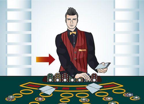 کارت سوراخ  برد و مزیت بازی های ورق کازینو