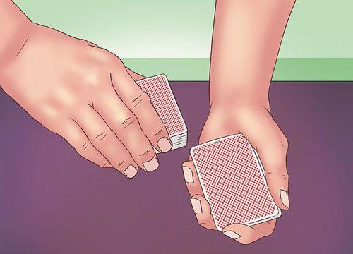 برش زدن روش آبشاری چگونه کارتها را آبشار رش بزنیم