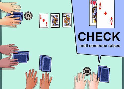 نحوه استفاده از استراتژی پوکر برای برنده شدن در یک بازی Texas Hold 'Em